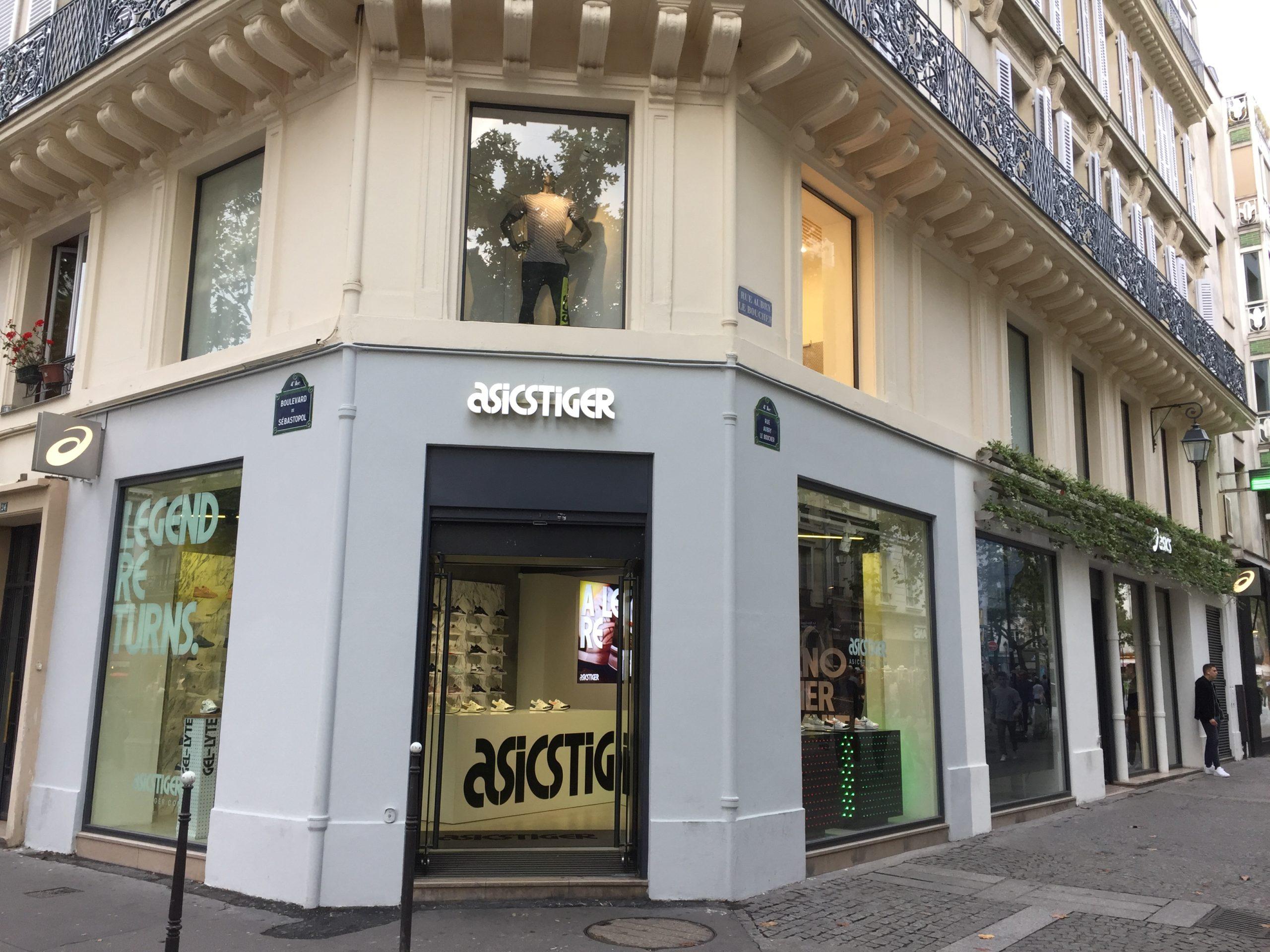 ASICS et ASICS TIGER: Ouverture du premier Concept Store de France