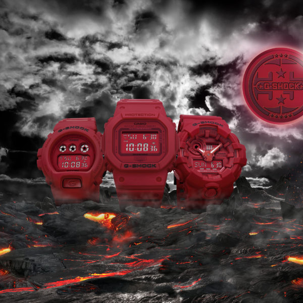 "G-SHOCK ""RED OUT"" Pack-35th Anniversary"