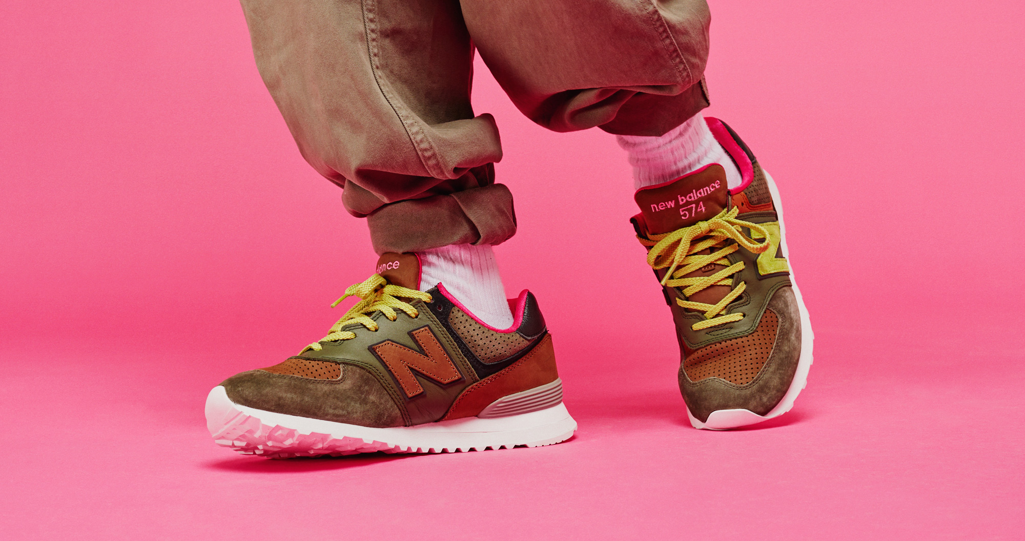 "SNEAKERSNSTUFF X NEW BALANCE ML574 ""ICONIC COLLABORATION"""
