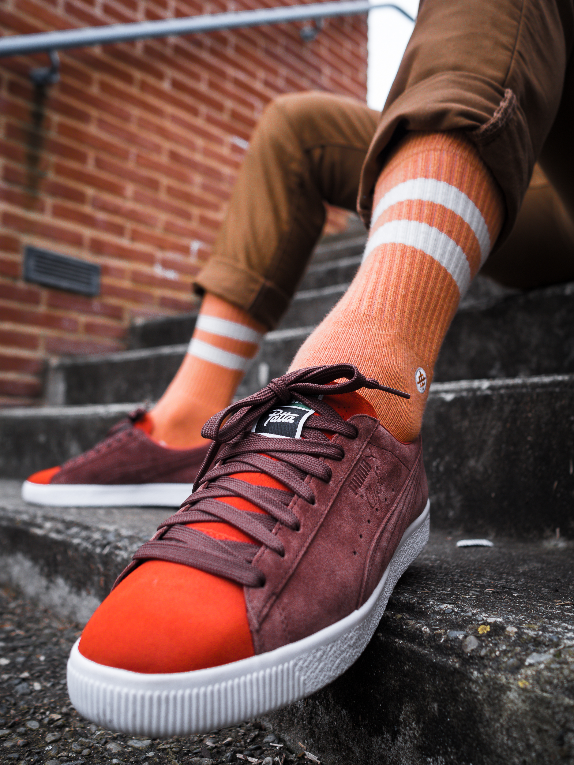 "PATTA X PUMA CLYDE ""Orange Biscuit"""