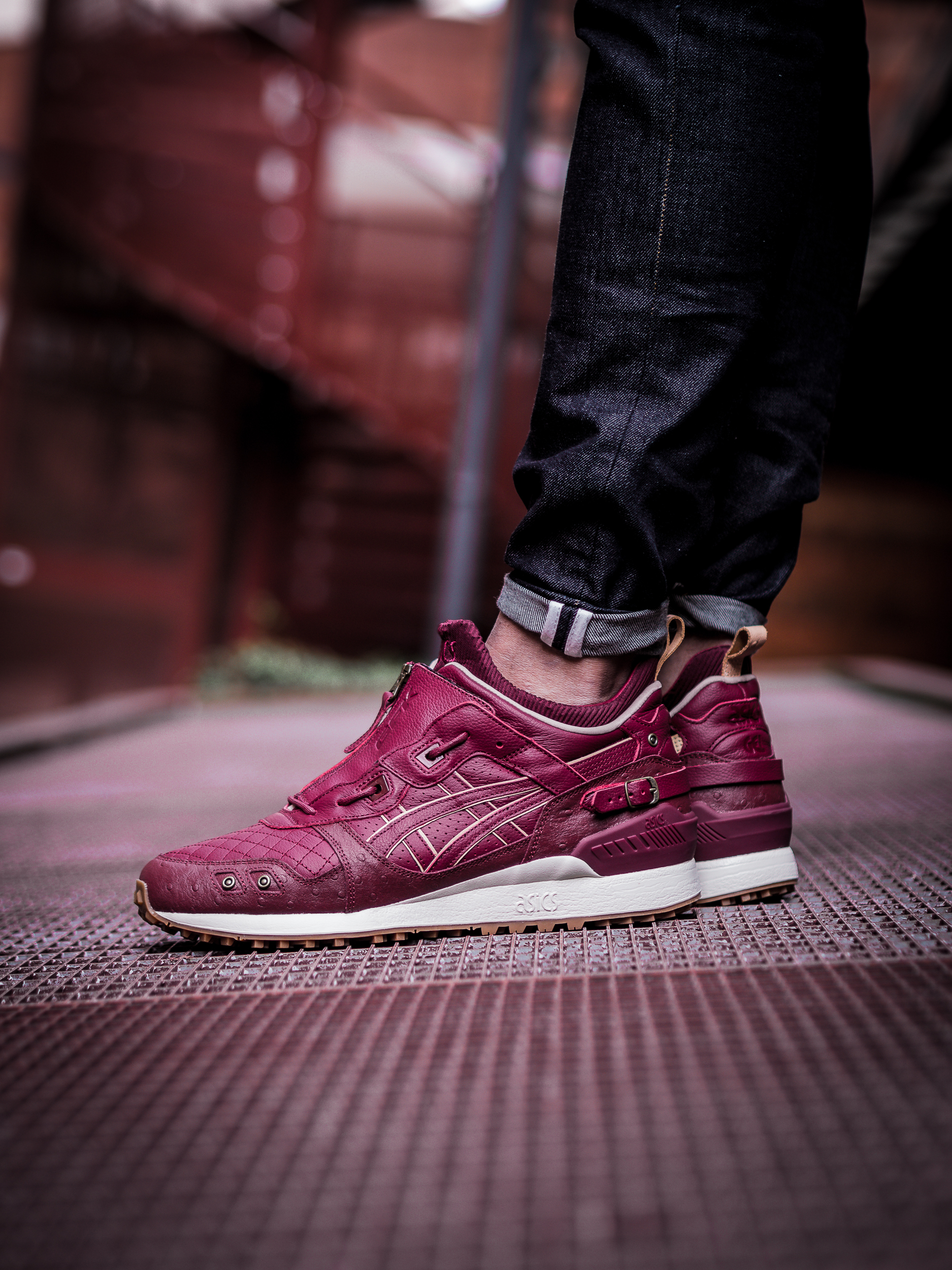 "ASICS GEL LYTE MT X EXTRA BUTTER X GHOSTFACE KILLAH ""Pretty Toney"""
