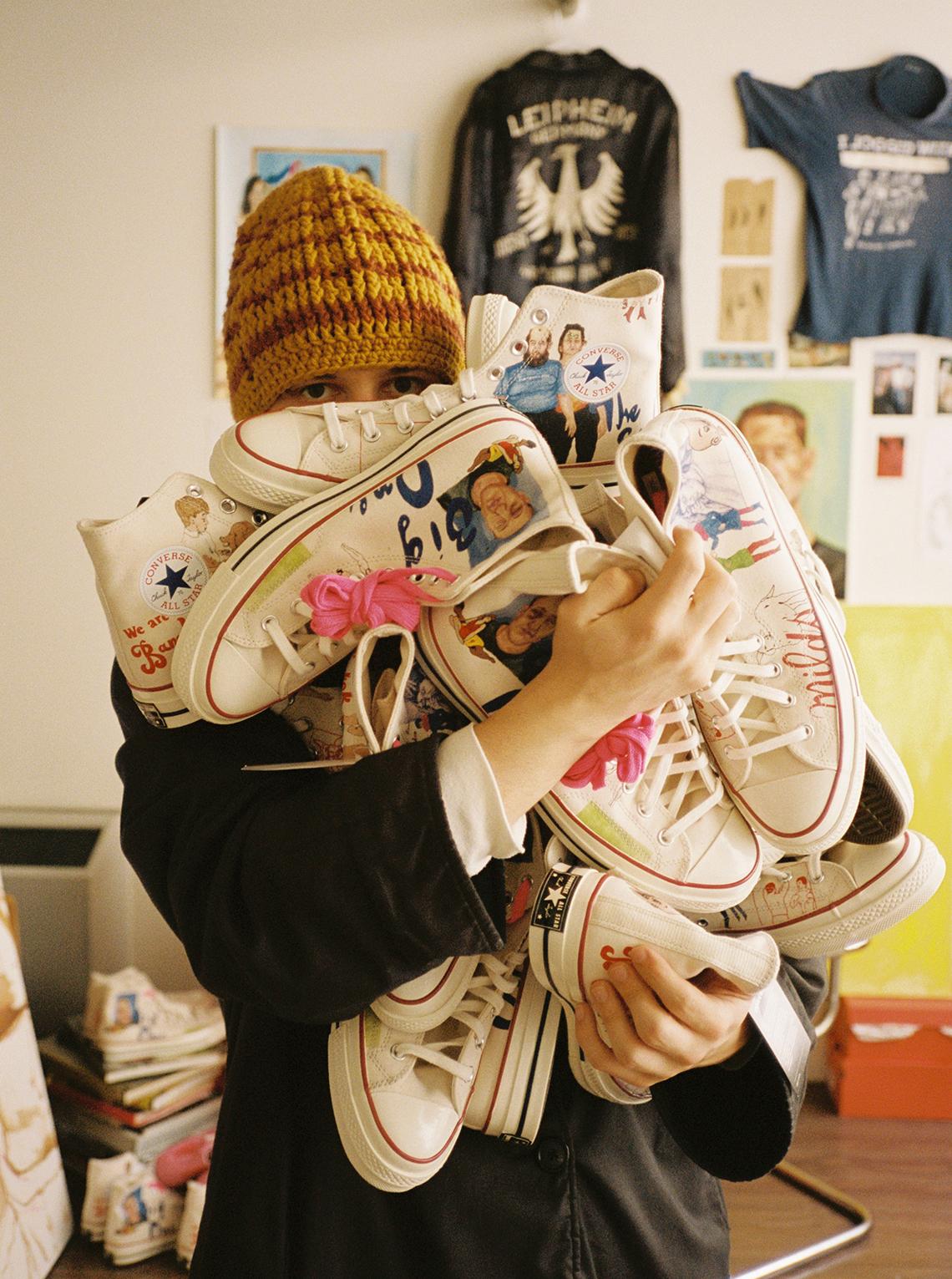 """SPENCER MCMULLEN X CONVERSE CHUCK 70 """"Artist Series"""""""