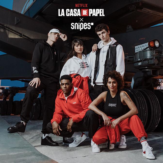 SNIPES X LA CASA DE PAPEL