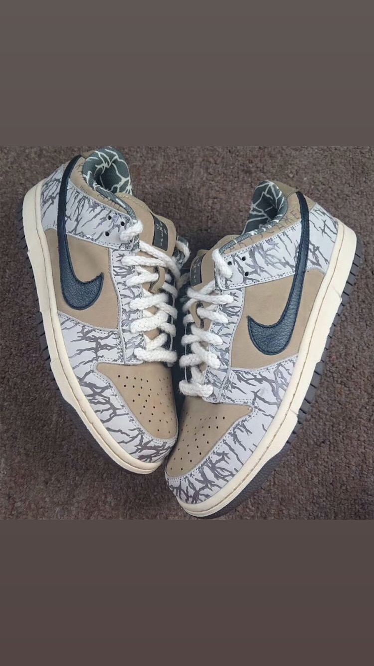 ANOTHER RELEASE FROM TRAVIS SCOTT NIKE SB DUNK LOW?