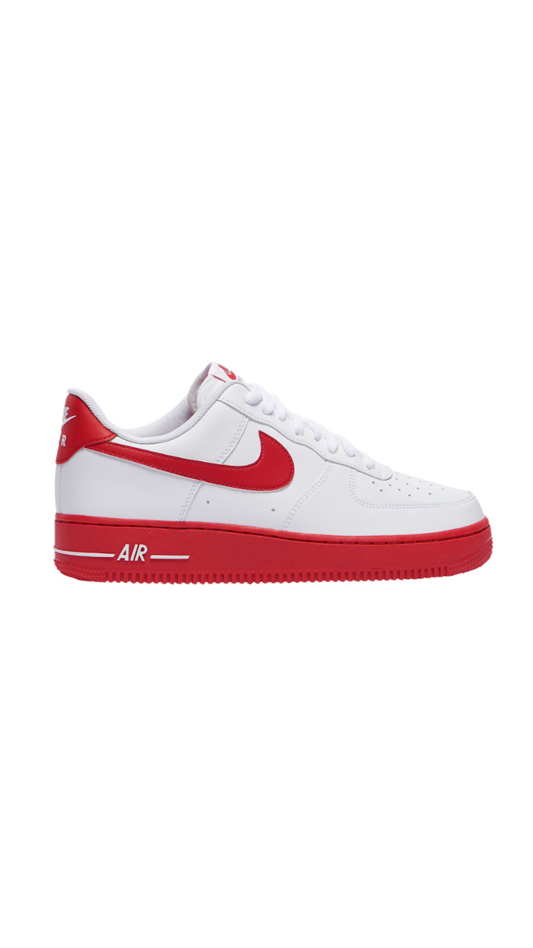 """NIKE AIR FORCE 1 """"UNIVERSITY RED"""""""