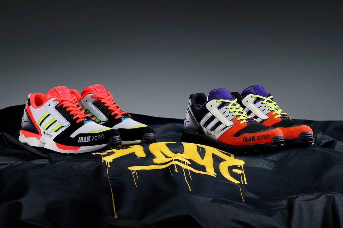 [:fr]Irak x adidas ZX 8000[:en]Irak x Adidas ZX 8000[:]