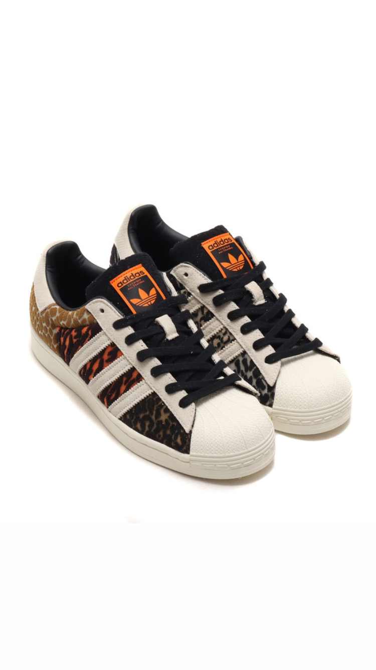 "Atmos x adidas Superstar ""Crazy Animal Pack"""