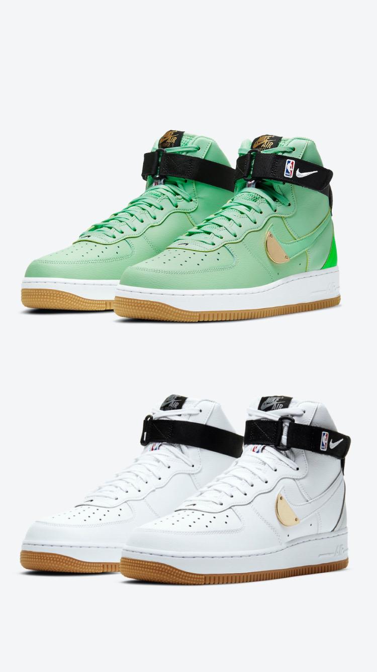Nike Air Force 1 High « NBA pack »