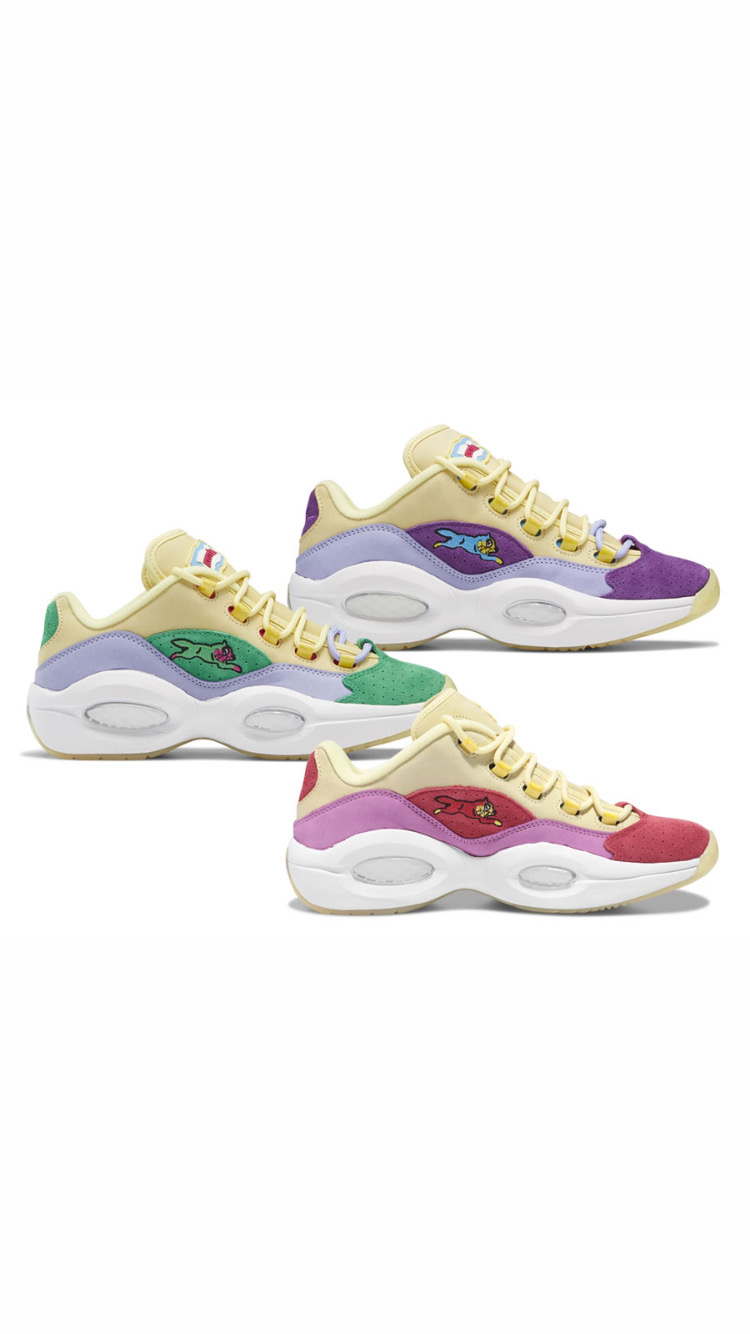 [:fr]Collection BBC ICECREAM x Reebok Question Lows « Running Dog »[:en]BBC ICECREAM x Reebok Question Lows « Running Dog »[:]