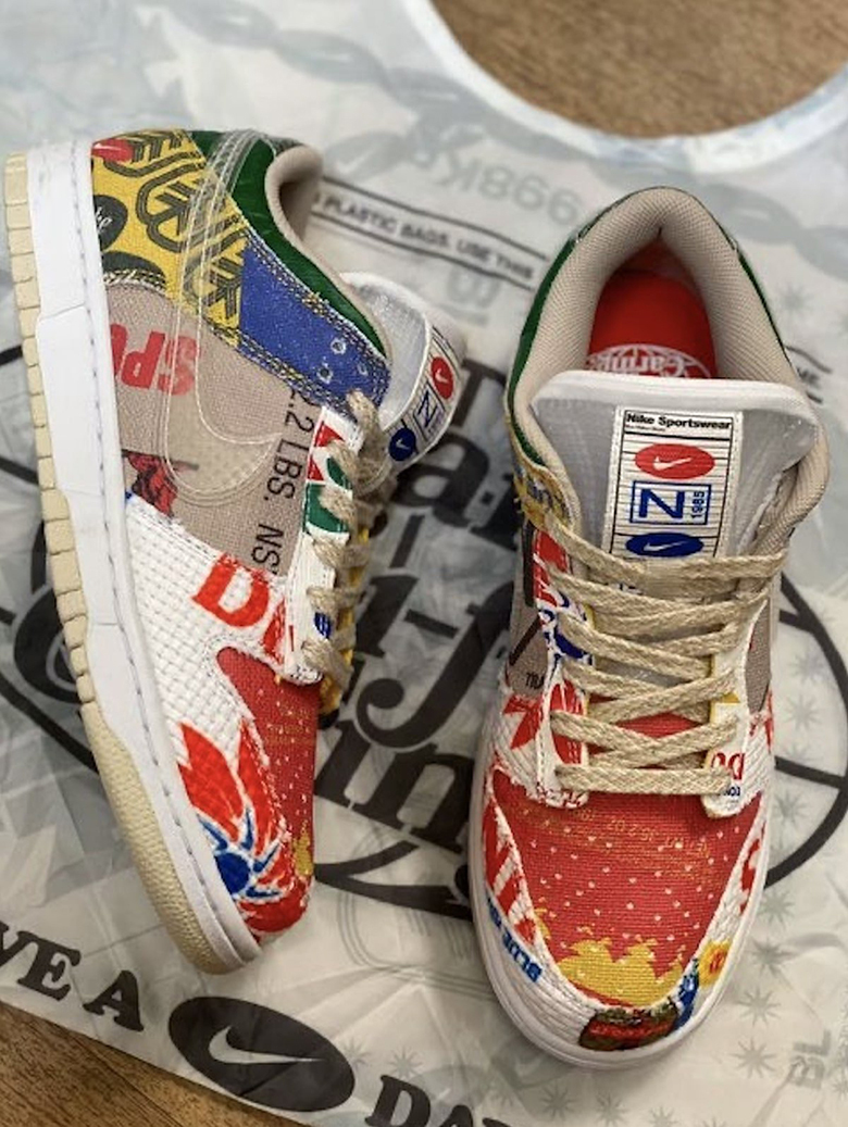 Nike Dunk Low SP « Thank You For Caring »