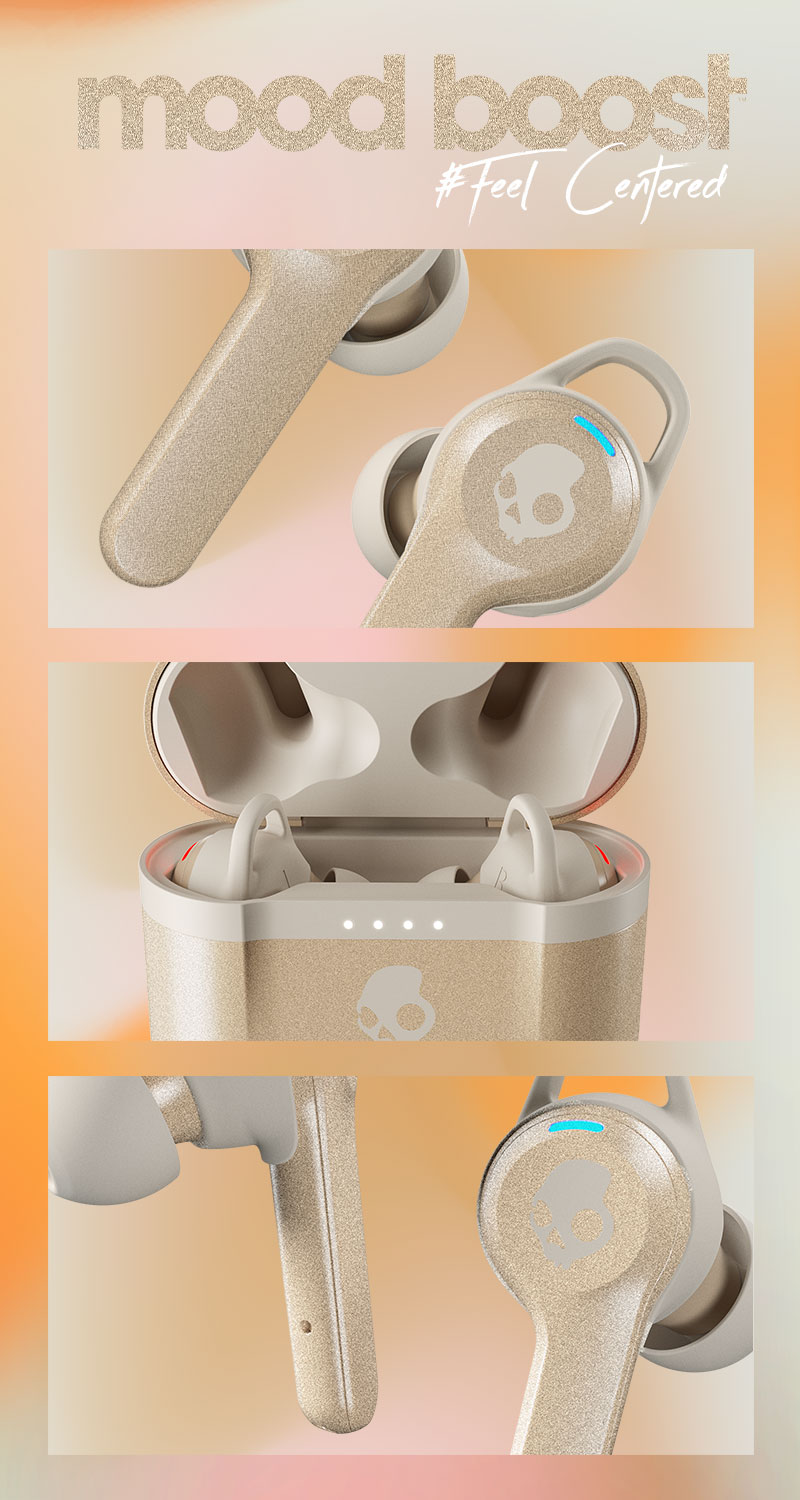 "SKULLCANDY x TO WRITE LOVE ON HER ARMS ""MOOD BOOST"" pack ""Centered"""