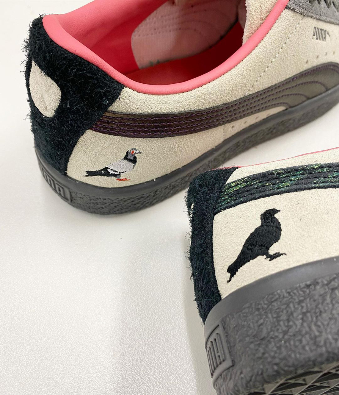 Atmos x Staple Pigeon x Puma Suede « Pigeon and Crow »