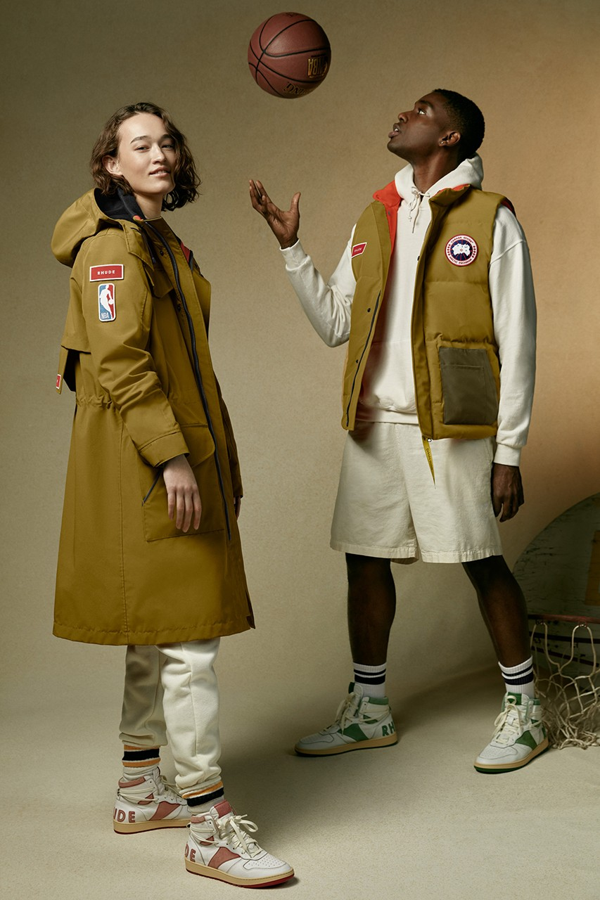Collection Canada Goose x RHUDE x NBA All-Star Weekend